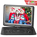 Best Portable DVD Players - QKK Upgraded Version 15.4 Inch Portable DVD Player Review