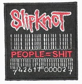 Slipknot personas barras hierro en Sew bordado, diseño de ...