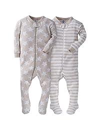 Gerber Baby-Boys 2 Pack Footed Sleeper