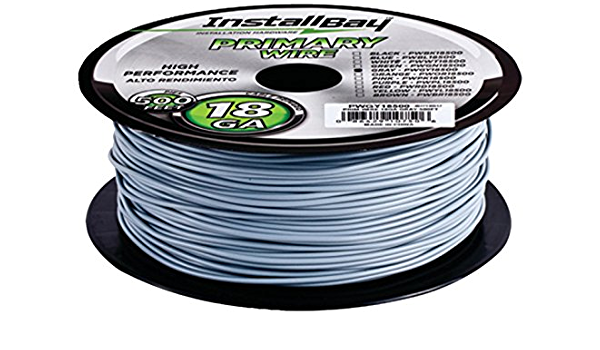 METRA Ltd WR18GY-500 18 Gauge Primary Wire