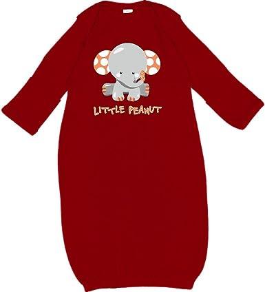 inktastic Little Peanut Cute Baby Elephant Long Sleeve Creeper