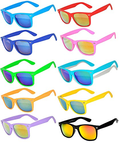 colorful wayfarer sunglasses - 4