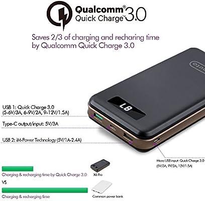 Amazon.com: imuto 16750 mAh ~ 30000 mAh Cargador portátil ...