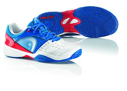 HEAD Sprint Zapatilla de Tenis Junior Blanco/Azul/Rojo