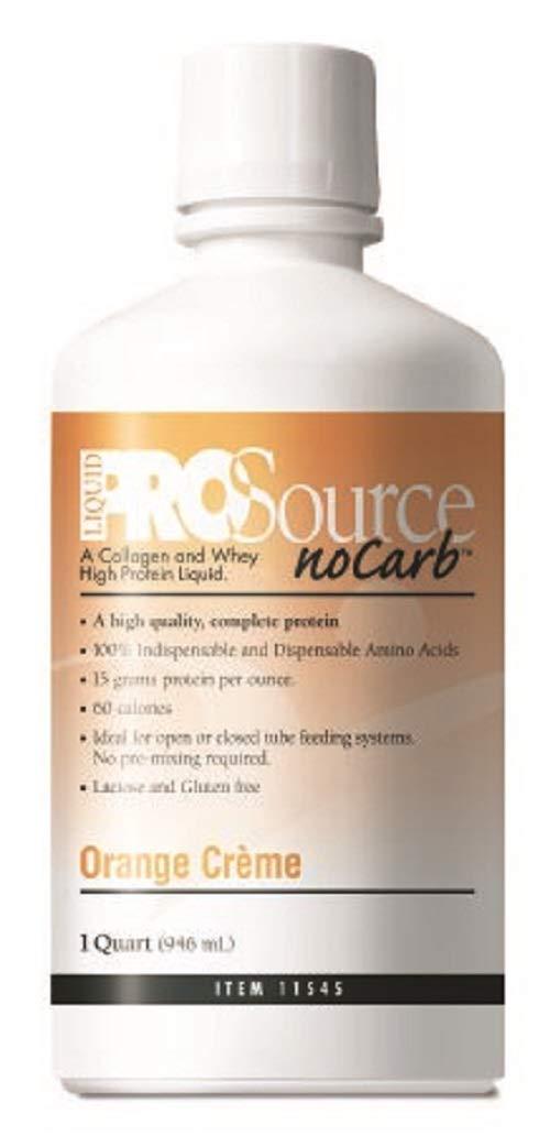 PROSOURCE NO CARB 32OZ Orange Cream Flavor #11452601 by ProSource