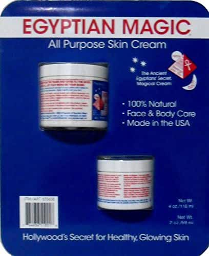 Egyptian Magic All Purpose Skin Cream, 4oz + 2oz Jars by Egyptian Magic