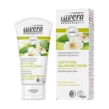 Lavera Organic Green Tea & Calendula Mattifying Balancing Cream (For Combination Skin) 50ml