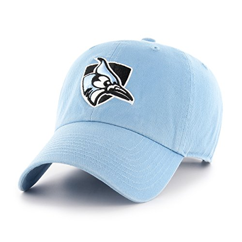 Apparel Blue Jays (OTS NCAA Johns Hopkins Blue Jays Challenger Clean Up Adjustable Hat, Columbia, One Size)
