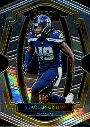 new concept 69bae b9584 Amazon.com: 2018 Panini Select #101 Shaquem Griffin Seattle ...