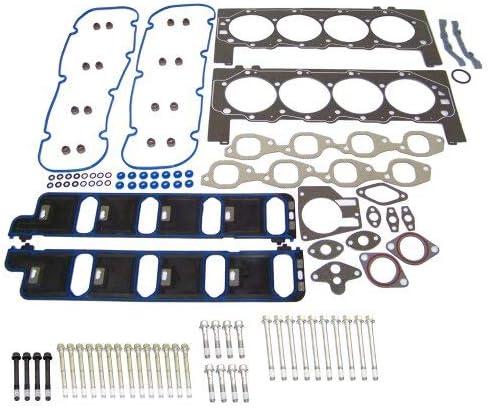 DNJ Head Gasket Set with Head Bolt Kit For 2001-2007 for Chevrolet C3500HD 8.1L 496cid V8 OHV