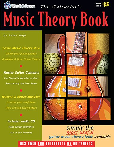 The Guitarist's Music Theory Book - with Audio CD
