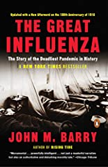 """The definitive account of the 1918 Flu Epidemic. """"Monumental""""-Chicago Tribune.At the height of WWI, history's most lethal influenza virus erupted in an army camp in Kansas, moved east with American troops, then exploded, killing as many as 100 millio..."""