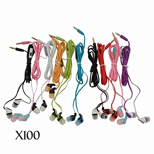 JustJamz Stereo Earbud Headphones Colors product image