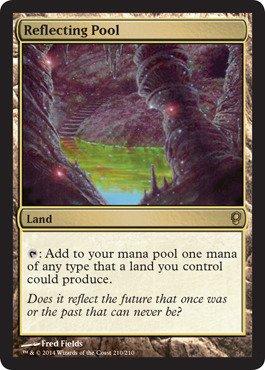 (Magic: the Gathering - Reflecting Pool - Conspiracy )