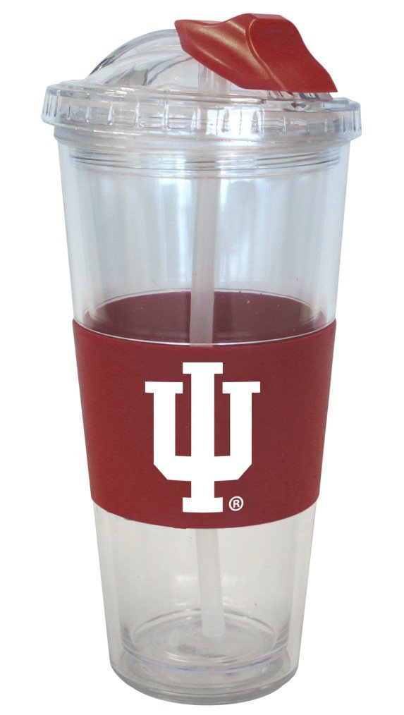 Boelter Brands Indiana Hoosiers No Spill Straw Tumbler by Boelter Brands