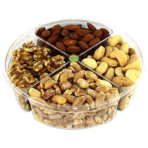 Premium Gourmet Nuts Gift Basket Assortment Healthy Fresh and Roasted. (Japanese Food Gift Baskets)