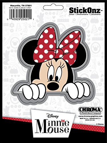 Chroma 25021 Minnie Mouse Stick Onz Decal
