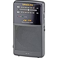 NEW Portable AM/FM Hand-Held Receiver with Built-In Speaker (Personal & Portable)
