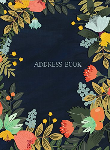 How to buy the best address book modern floral?