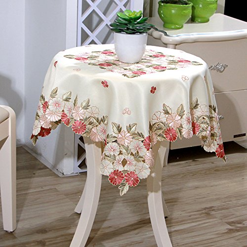 yazi Square Christmas and Thanksgiving Tablecloth Vintage...