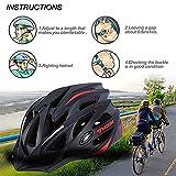 YXDDG Bicycle Helmet Ultralight integrally Molded