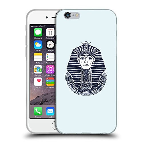 GoGoMobile Coque de Protection TPU Silicone Case pour // Q09480619 Egypte roi 2 Bulles // Apple iPhone 7