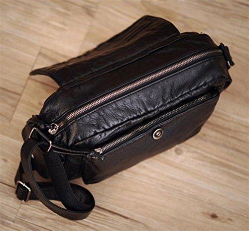 pengweiHembra bolsa de mensajero raya de moda solo paquete de hombro , 2 4