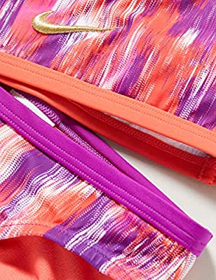 NIKE T-Crossback Bikini S, Niñas, Vivid Purple, L: Amazon.es: Deportes y aire libre