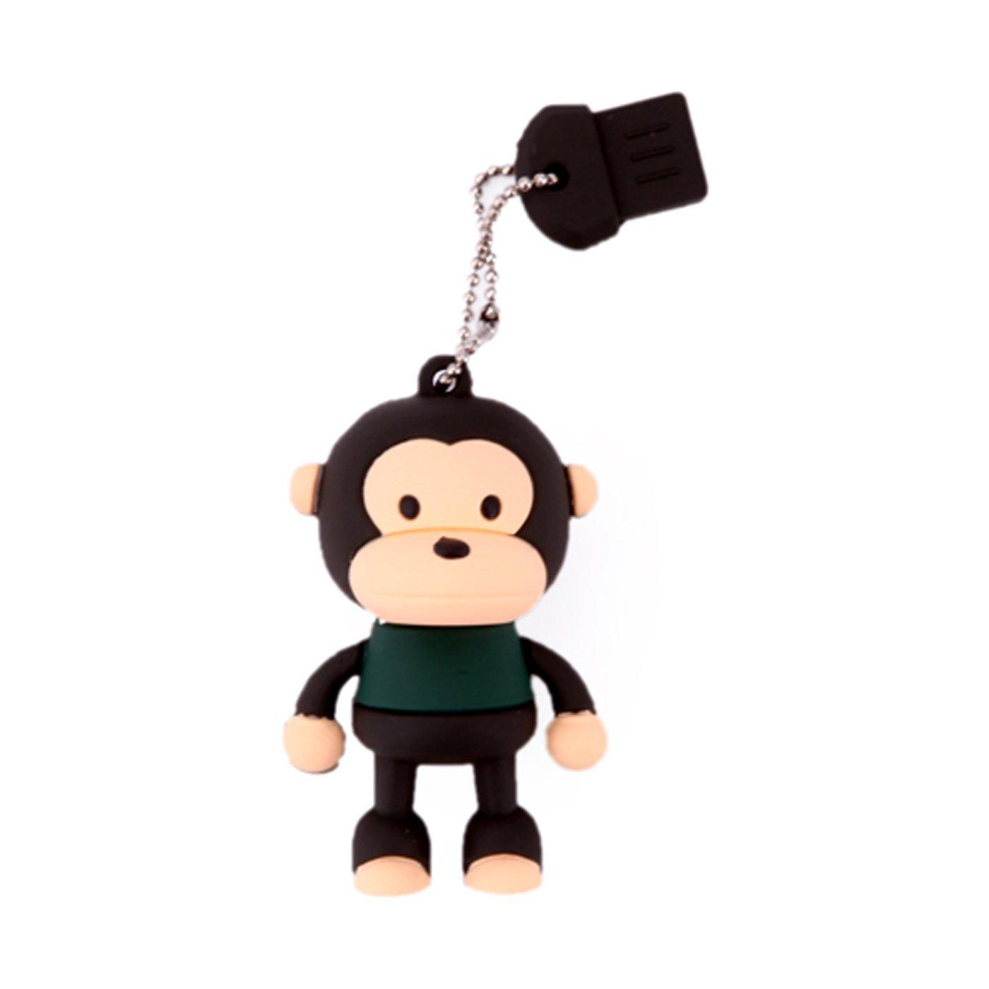 Novelty Monkey Shaped USB Flash Drive