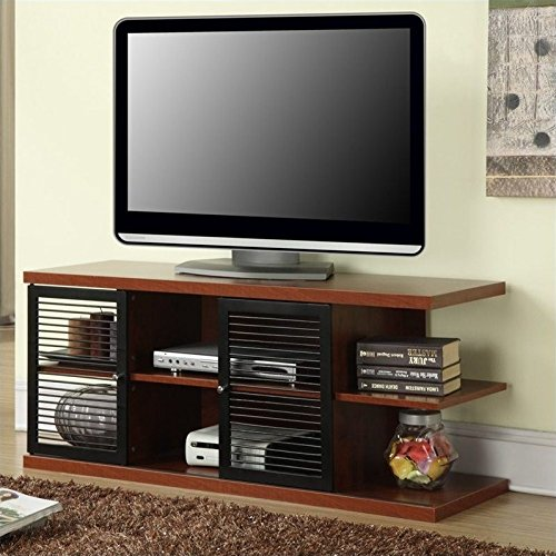 East Tv (Convenience Concepts Designs2Go East Hampton TV Stand, Cherry and Black)