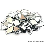 "Milltown Merchants™ Mirrored Cobbles are the perfect addition to any mosaic or stained glass project! Specifications:  ½"" glass pieces   350-400 pieces  1 Pound (16 oz.)  Tiles come packaged in a 1 pound bag Use the complete tile, or cut with..."