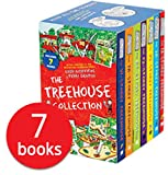 Andy Griffiths The Treehouse 7 Books Collection Box Set (13 Storey, 26 Storey, 39 Storey, 52 Storey, 65 Storey, 78 Storey & 91 Storey Treehouse)