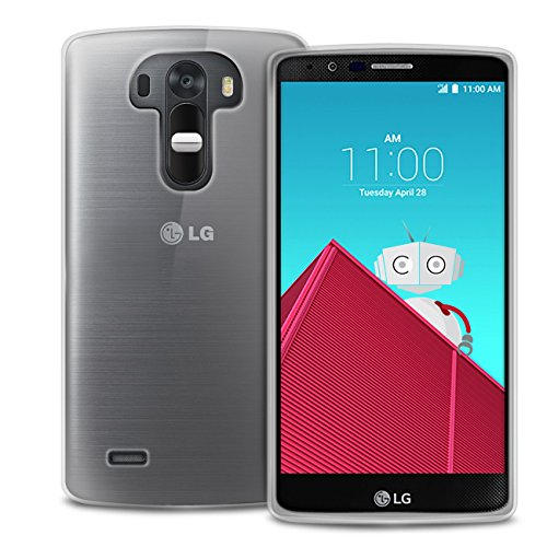 New 2015 LG G4 100% Crystal Clear Gel Case Skin TPU Cover - Includes Screen Protector and Microfibre Cloth
