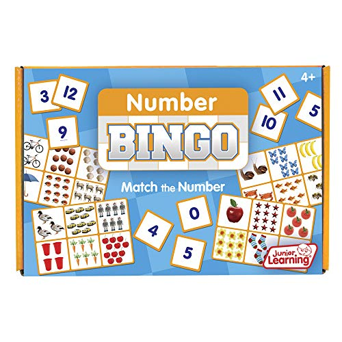 Junior Learning Number Bingo Educational Action Games