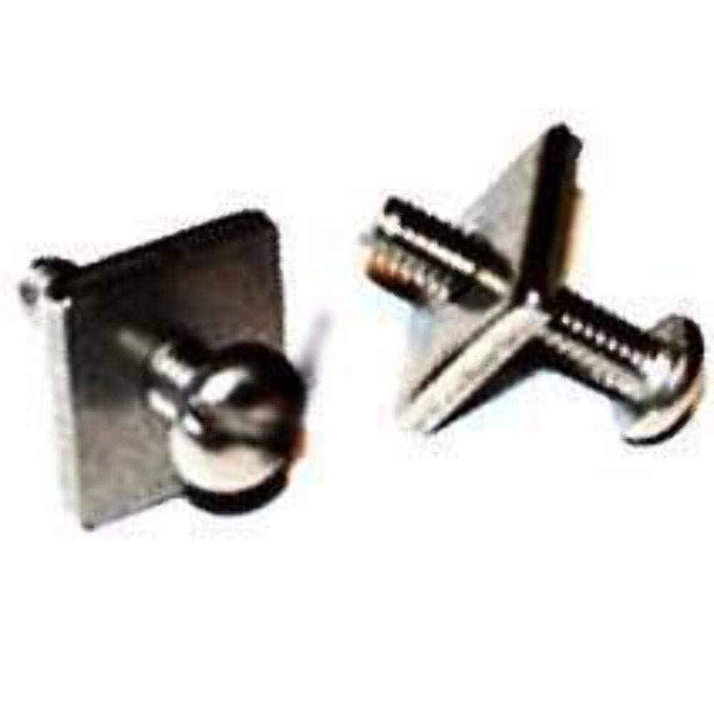 DORSAL Stainless Steel Fin Screw and Plate for Longboard and SUP - Choose 1, 2 or 3 Pack