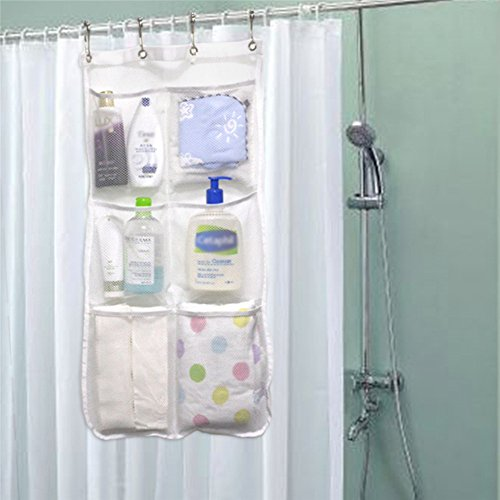 shower-curtain-bathroom-organizer-6-pockets-with-4-strong-rings-quick-dry-hang-tidy-mesh-net-bathroo