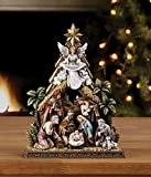 Napco Hallelujah Angel Nativity Scene