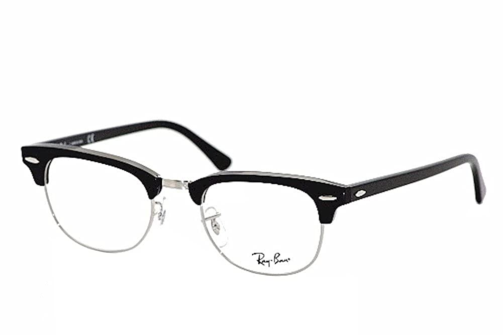 d56ea911274 Amazon.com  Ray-Ban RX5154 Clubmaster Eyeglasses 100% Authentic  Clothing