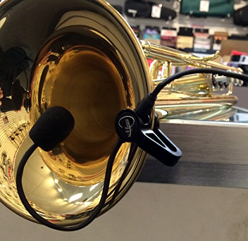 ''THE FEATHER'' TRUMPET MIC with FLEXIBLE MICRO-GOOSE NECK by Myers Pickups ~ See it in ACTION! Copy and paste: myerspickups.com by Myers Pickups