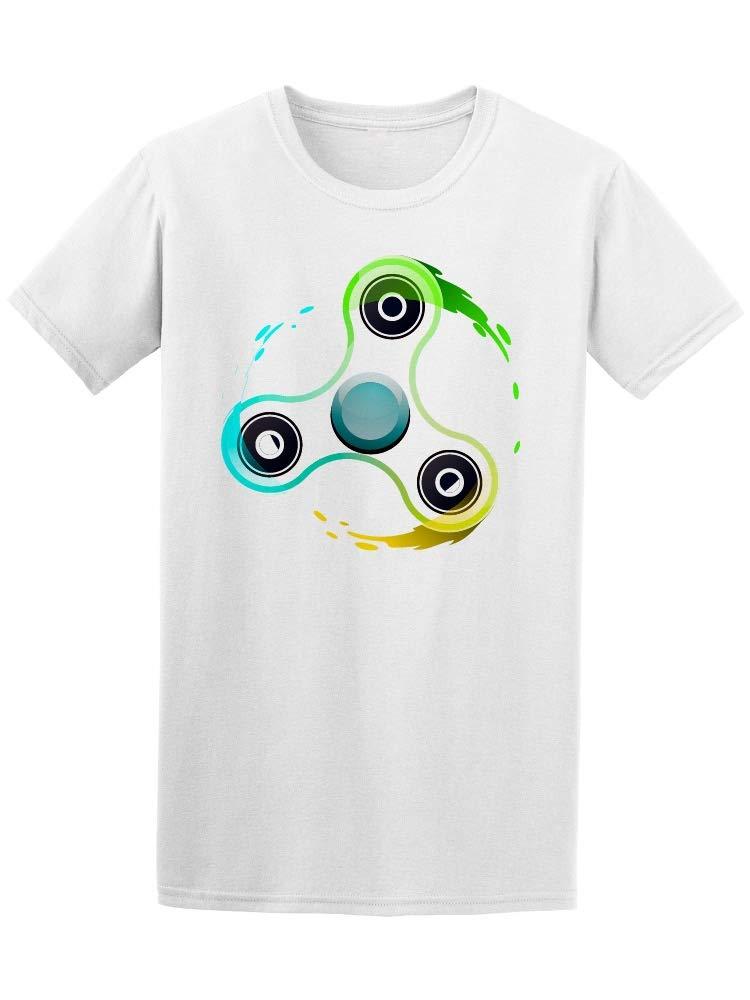 Color Fidget Spinner Tee Men's -Image by Shutterstock