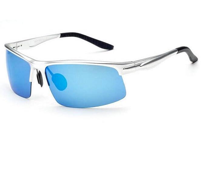 Addora Hombres Gafas De Sol Polarizadas Antideslumbrante HD Gafas De Conducción A Prueba De Viento Gafas