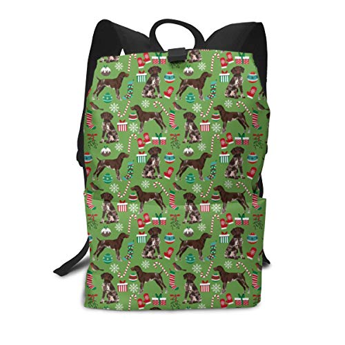 Travel Backpack Laptop Backpack Large Diaper Bag - German Shorthaired Pointer Dogs Backpack School Backpack For Women & Men ()