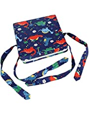 T TOOYFUL Comfortable Anti- Child Booster Chair Cushion for Dining Child - 28cm X 13cm - Blue, 31.5x31.5x8cm