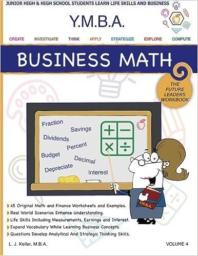 Amazon.com: YMBA Business Math: YMBA Learning Workbook Series ...