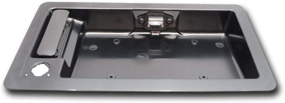 Rear Cargo Passenger Outside Door Handle and License Plate Bracket for Ford Van