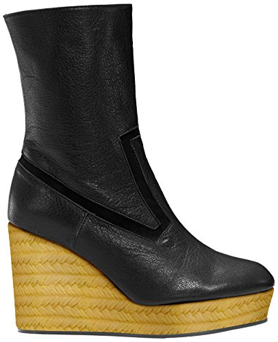 Castañer Brem / Goat Leather Damen Schneestiefel Black