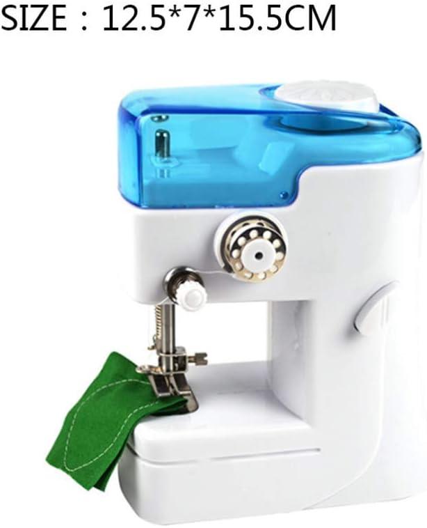 GSKTY Máquina de coser Miniatura máquina de coser mini eléctrica ...