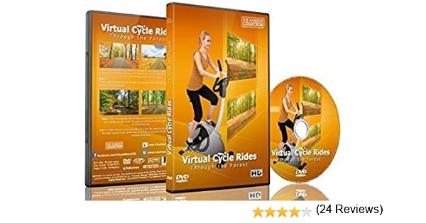 Virtual Cycle Rides - Through the Forest - For Indoor Cycling ...