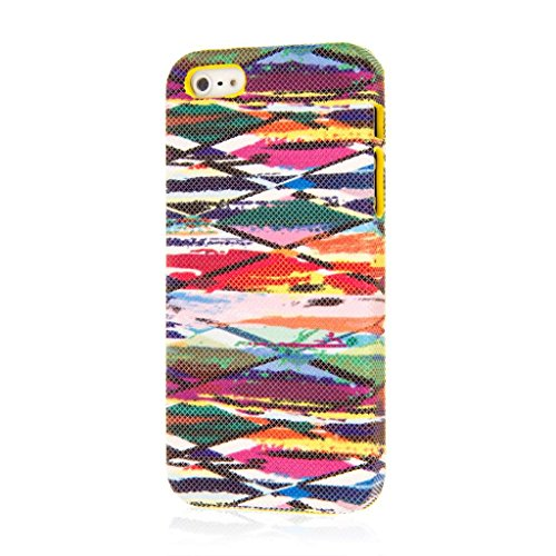 EMPIRE Signature Series Slim-Fit Case Hülle Tasche für Apple iPhone 5 / 5S – Blurred Lines