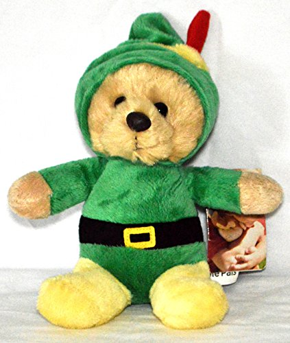 (Aurora People Pals Elf Bear Wearing Holiday Outfit)